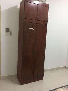 Cupboard/wardrobe/study table/long mirror