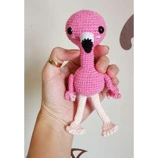 Amigurumi Flamingo