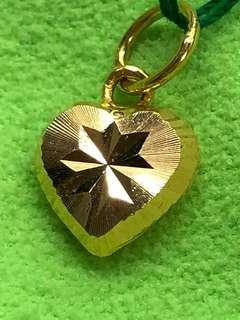Gold 916 - Heart shape locket ❤️❤️❤️