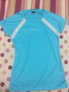 Light Blue Gray Diadora Running Tshirt