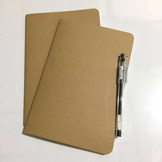 Unlined Journal / Notebook (white leaves)