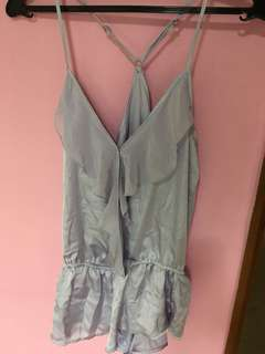 Forever 21 Playsuit Sleepwear Lilac Size S