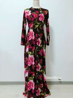 (Restocked) Hari Raya Long Dress