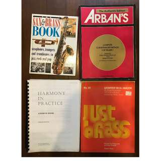 Spring cleaning sale - Music books for sale [USED]