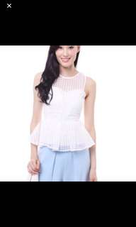 MDS White blouse