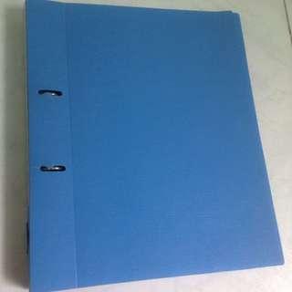 Blue ring file