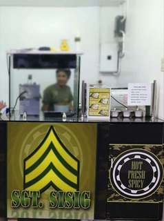 Sgt. Sisig Food cart for sale