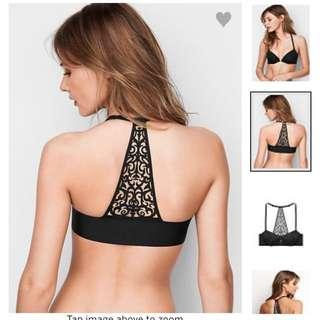 Victoria's Secret 維多利亞的秘密 美背內衣黑色 32D