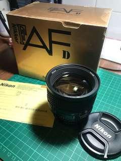 Nikon Nikkor 85mm f/1.4D (IF)