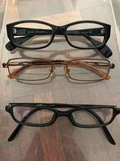 3 pcs of Clear Glasses