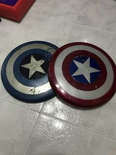 2 Captain America Shield