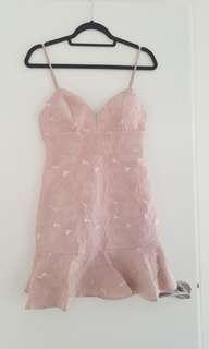 Forever new odette jaquard dress size 8 BNWT
