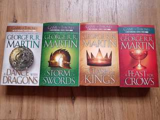 Game of Thrones book series by George R.R. Martin