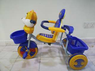 baby learning bicycle misic,safety fence available big space basket