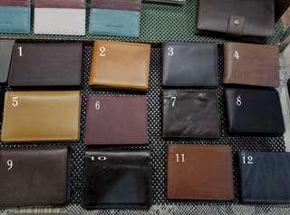 DOMPET KULIT ASLI HANDMADE VINTAGE untuk PRIA WANITA Genuine Leather