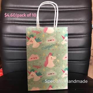 🎉Party Supplies ❤️ Party Paper Bag / Party Gift Bag / Children Paper bag / Goody Bag / Goodie bag