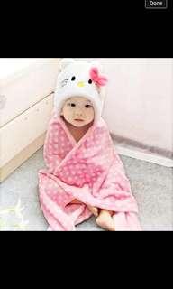 baby hood towel