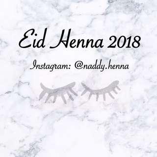 Eid Henna 2018