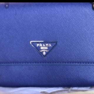 NA Royal Blue Prada Bag