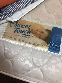 "Sweet Touch Rose Single Size 8"" Mattress"