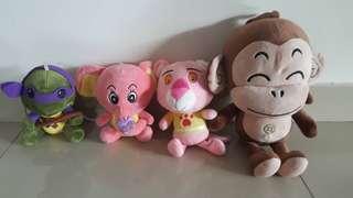 Soft Toys (4pcs)