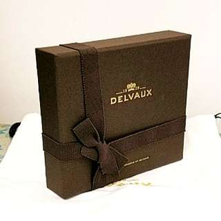 Delvaux wallet box with small dust bag 塵袋