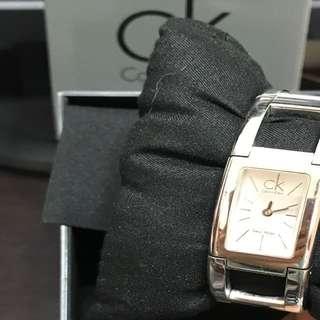 🚚 CK質感銀手錶,鍊錶