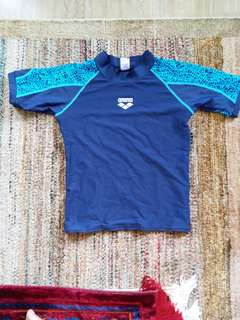 Boys swim rashguard