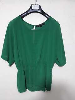 CLN sheer blouse