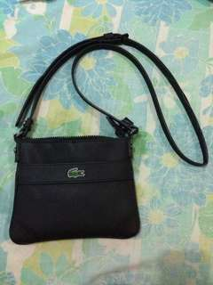 AUTHENTIC LACOSTE Classic Small Flat Crossbody Bag