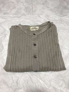Hermes Linen Long Sleeved Top