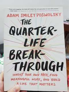 THE QUARTER LIFE BREAKTHROUGH by Adam Poswolsky