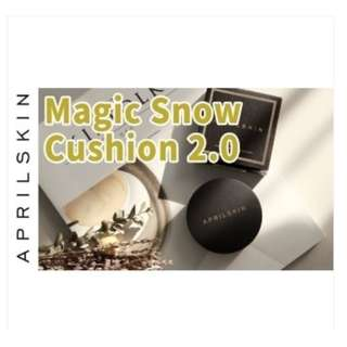 ORIGINAL April Skin Black Case Magic Snow Cushion SPF50 2.0
