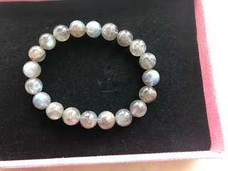 10mm 灰月光石