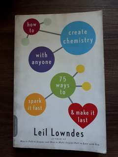 How To Creat Chemistry With Anyone book
