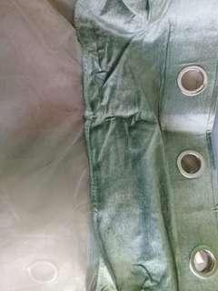 Moss-Green Curtain