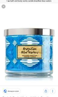 Bath & Body Works Brazillian Blue Waters