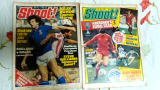 Vintage 1983 SHOOT football magazines. Price for one copy.