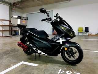 Honda PCX Bike Wrap