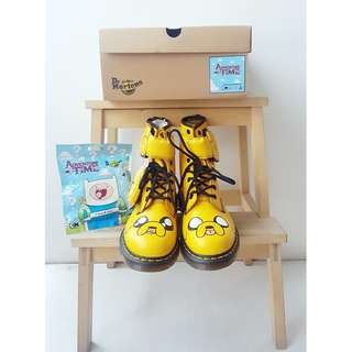 Dr. Martens x Adventure Time Jake the Dog Boots