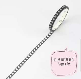 (2 designs) black and white washi tape