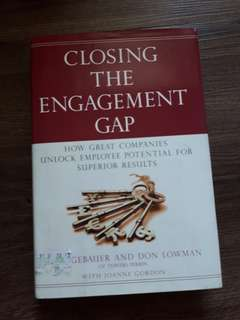 Closing the Engagement Gap book
