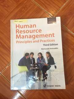 Human Resource Management Principles and Practices Third Edition