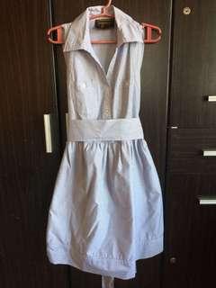 Pin Stripped Dress Sz Small