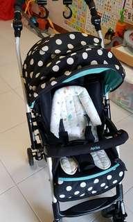 Aprica baby stroller/ pram