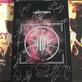Up10tion SIGNED spotlight silver album