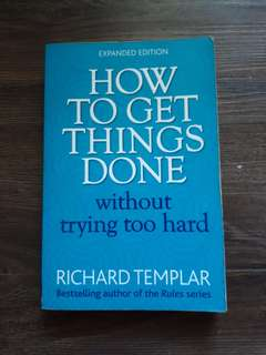How To Get Things Done book