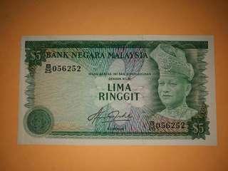 Malaysia Siri-4th 5Ringgit