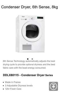 Brand New Condition 4-mth old 8kg Tumble Dryerj