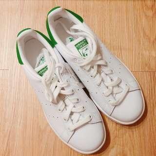 🚚 adidas Stan Smith 綠/23cm/UK4.5